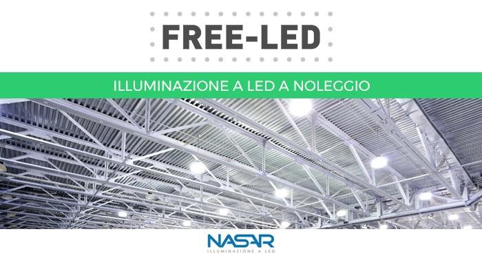 FREE-LED | illuminazione a LED a noleggio