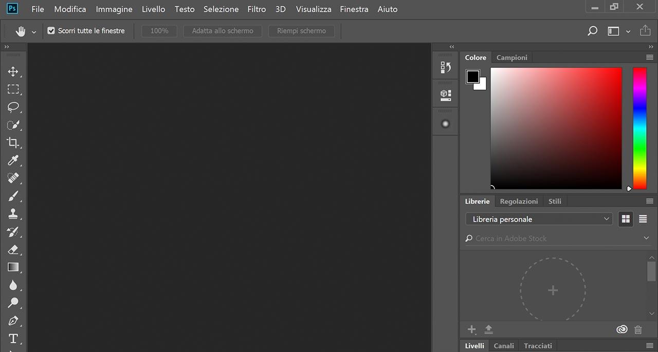 photoshop - interfaccia troppo grande al 200%